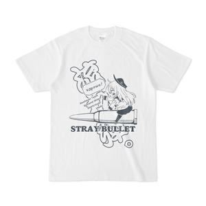 流れ弾。Tシャツ / ホワイト