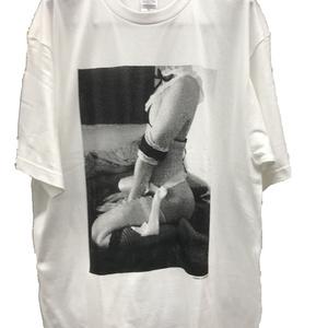 """すず屋。""""妄想資料室""""ビッグTシャツ(白)"""