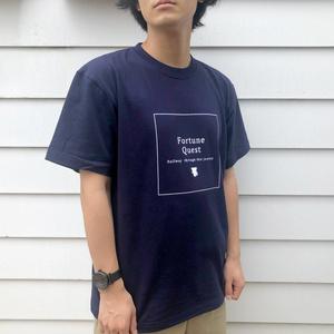 ラストフォーチュン記念Tシャツ ネイビー Lサイズ