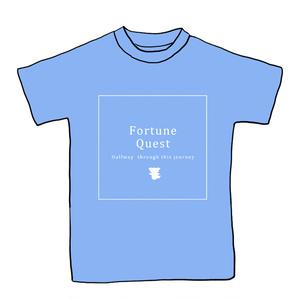 ラストフォーチュン記念Tシャツ(クレイブルー)Mサイズ