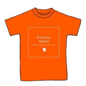 ラストフォーチュンTシャツ(トラップオレンジ)Mサイズ