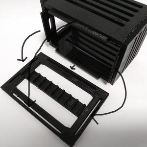 ゲームギア用 ゲームソフトケース(黒)