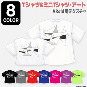 Tシャツ&ミニTシャツ・アート|#VRoid