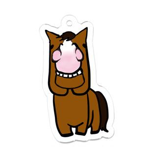 お馬キーホルダー