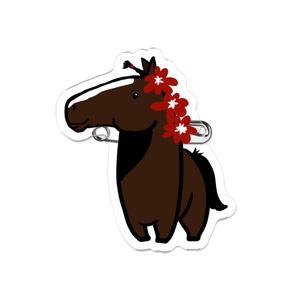 重種馬アクリルバッジ