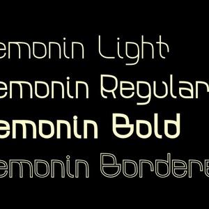 欧文フォント Lemonin (有償完全版)