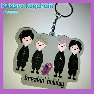 キャラクターRubber Keychain