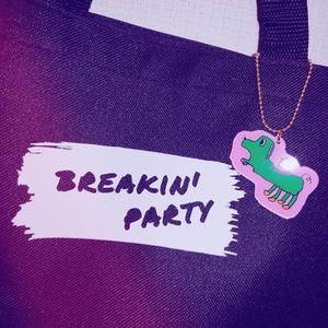 breakin'party トートバッグ