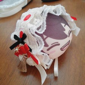 おまんじゅう ヘッドドレス オペレッタイメージ 凛月&真緒or嵐or桃季 2点セット