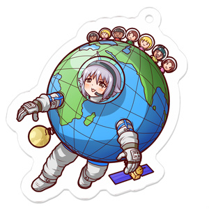 輿水幸子 in 宇宙旅行