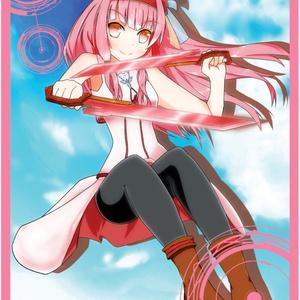 キャラクタースリーブ 琴葉 茜(ファンタジー風)