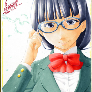 【SOLD OUT】色紙眼鏡っ娘 羽月瞳(君の眼鏡は1万ボルト!)