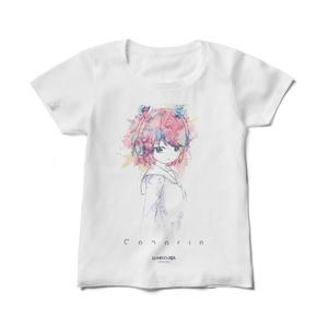 DJ NECOJITA - Canaria レディースTシャツ