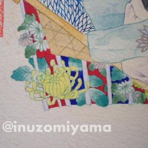 オリジナル『菊の約束』  原画