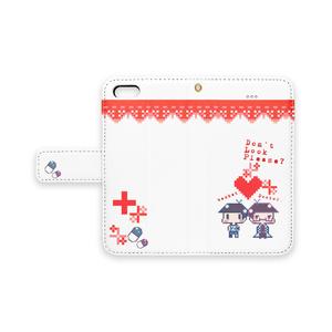 色松派生iPhoneケース(白衣とバスケ)