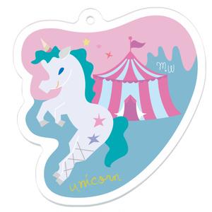 unicorn circus アクリルキーホルダー