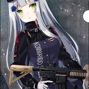 ドルフロクリアファイル HK416