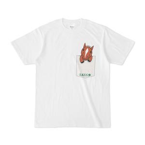 −KUC− ポケットイラストTシャツ