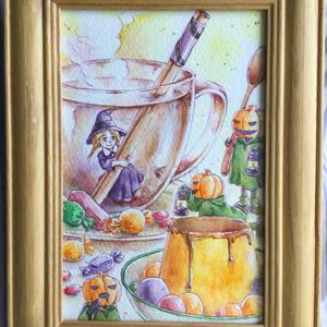 原画:ハロウィンのお茶会シリーズ