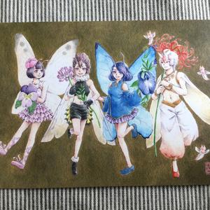 ポストカード『妖精集会』