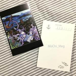 ポストカード:セーラー服女子シリーズ
