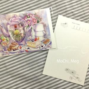 ポストカード:工芸茶のお茶会シリーズ