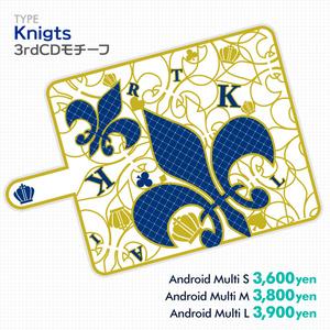 【あんスタ】Knights 3rdCDジャケモチーフ手帳型スマホカバー【価格改定】