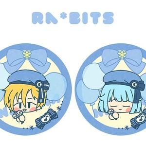 Ra*bits缶バッジ