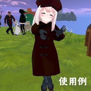 【3Dモデル】ダッフルコート△2094