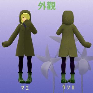 オリジナル3Dモデル アンジェラ -Angera-
