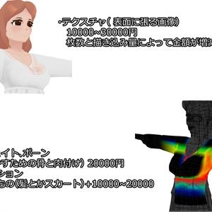 有料3Dモデル受付用