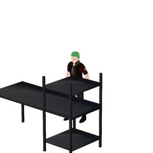 [FBX]ただの机[無料]