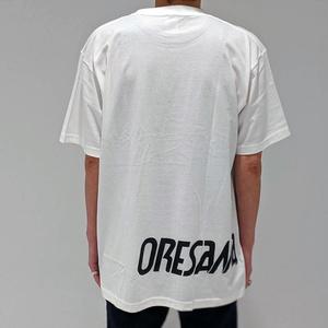 ORESAMA Emblem Tシャツ  ホワイト×ブラック