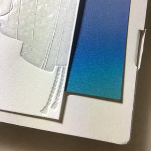 (透ける!)にっかり青江のメッセージカード