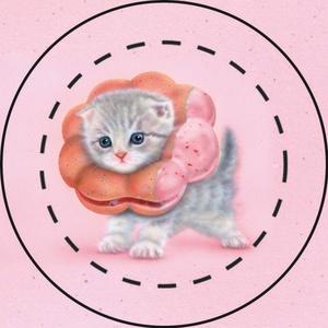 【雑貨】缶バッジ:ポンデニャイオン5個セット