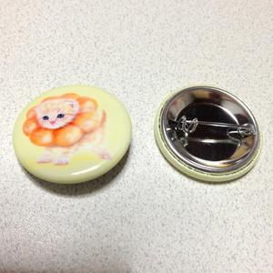 【雑貨】缶バッジ:ポンデニャイオン