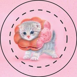 【雑貨】缶バッジ:大人気!珍獣5個セット(他の絵柄も選べる600円:送料込み!)