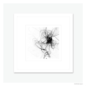 【LIMITED】Atoms drawing – φ / no.2