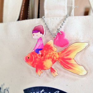 金魚トド松アクリルキーホルダー