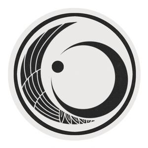 鶴月イメージ紋のマスキングテープ