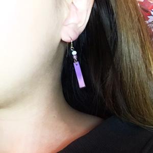 紫×ピンクの最強女の子カラーピアス