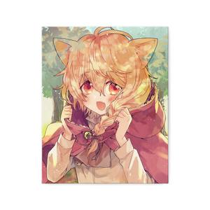 「人食い狼エミル」キャンバス