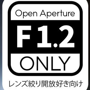 開放恋慕/AI Nikkor 50mm f/1.2S絞り開放写真集