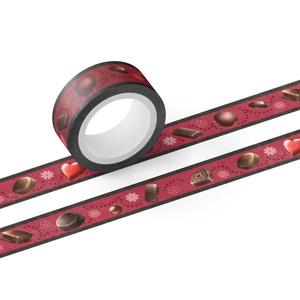 ビターチョコレートのマスキングテープ