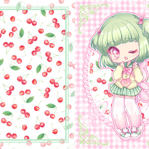 イラスト本『pattern × girl -fruit-』
