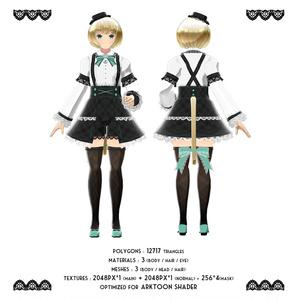 オリジナル3Dモデル 「ルーチェ」