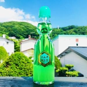 ラムネ天気管(メロン・緑ビー玉)