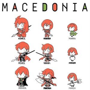歴代マケドニアトートバッグ