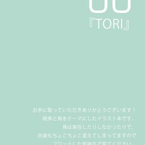 イラスト本『TORI』