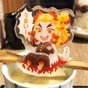 杏寿郎「うまい!」 一緒に食べるアクリルクリップ